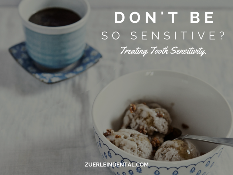 Treating Tooth Sensitivity To Hot and Cold - Brian Zuerlein DDS - Omaha Cosmetic Dentist